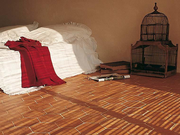 sol int rieur en terre cuite terres cuites de raujolles. Black Bedroom Furniture Sets. Home Design Ideas