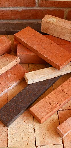 fire bricks and decorative facing bricks