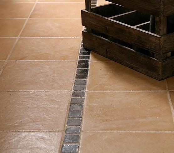 Soap for terracotta tiles