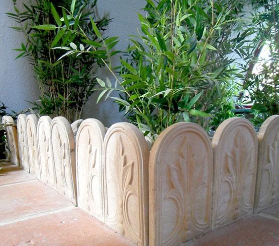 Bordure de jardin en terre cuite pour am nager vos ext rieurs - Bordure de jardin ancienne en terre cuite ...