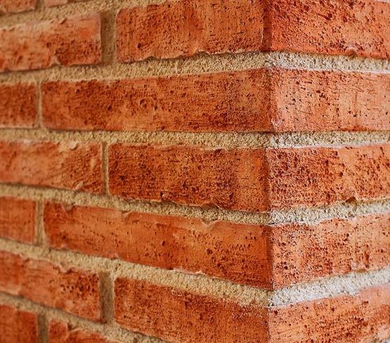 Pre-aged Corner Facing Brick