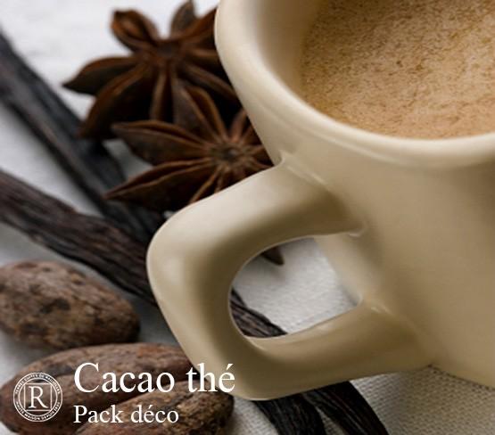 Pack Déco - Cacao Thé Uni