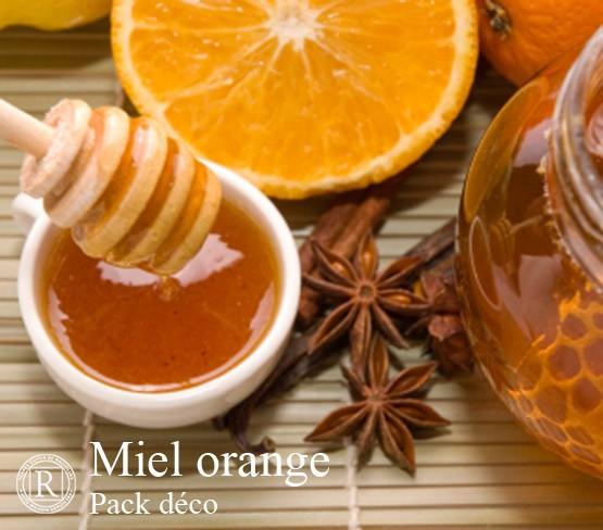 Pack Déco - Miel Orange Uni