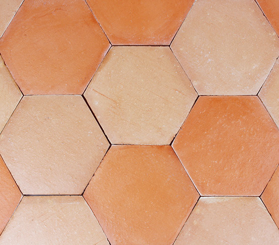 Pink Sand - Smooth Hexagon