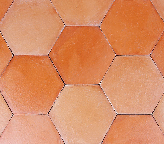 Pink Red - Smooth Hexagon