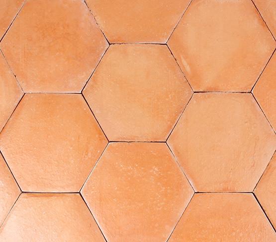 Pink - Smooth Hexagon
