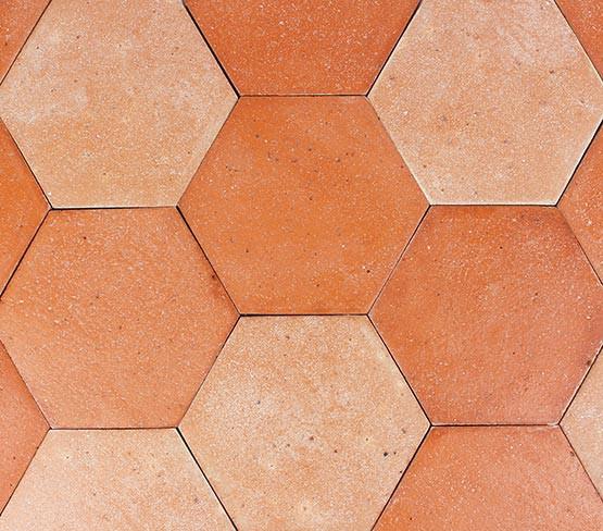 Hexagone TH - Rouge Rosé