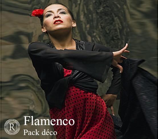 Pack Déco - Flamenco Uni
