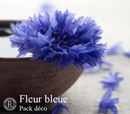 Pack Déco - Fleur Bleue